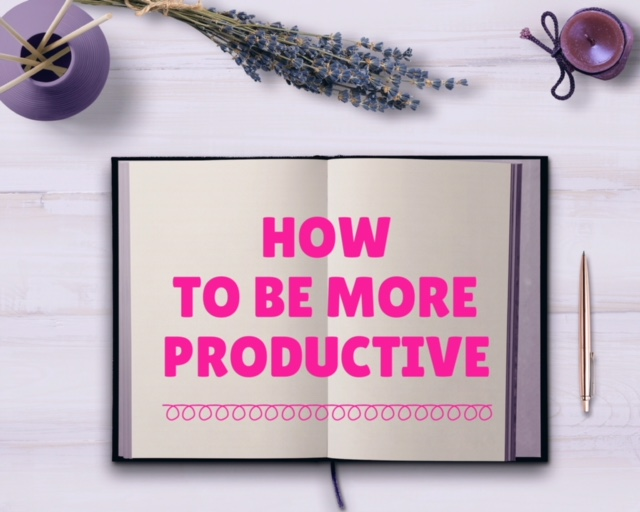 Figuring out how to be more productive
